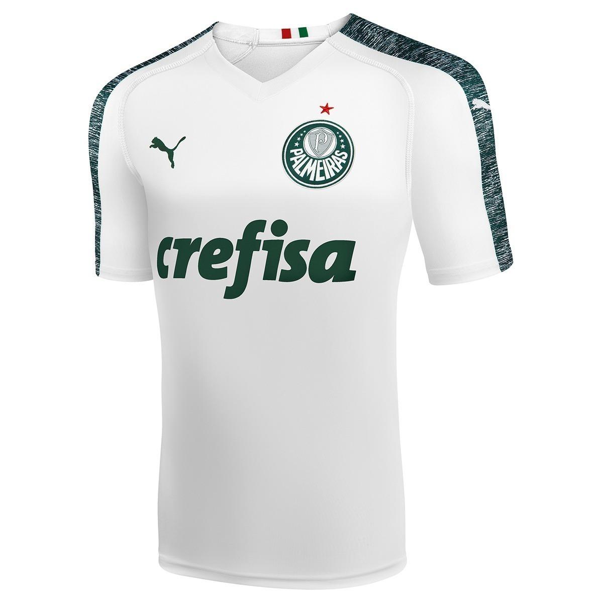 7cd8164b50 nova camisa branca palmeiras 2018 - puma promoção. Carregando zoom.