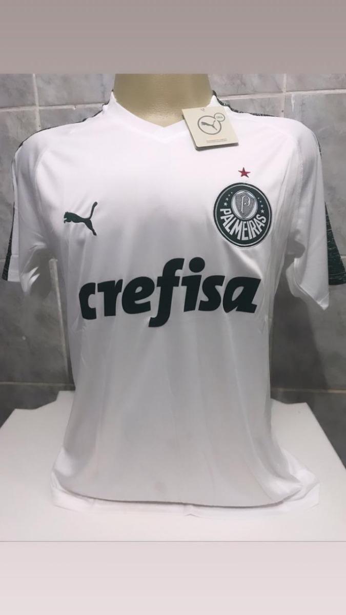 nova camisa branca palmeiras 2018 - puma promoção. Carregando zoom. fe7990581e65a