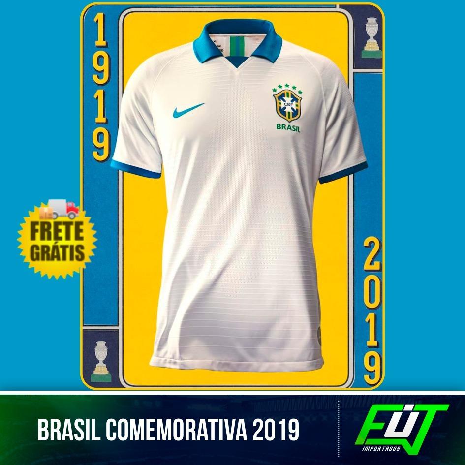 a6f3b1bbbc30d nova camisa brasil comemorativa copa américa 2019 v. jogador. Carregando  zoom.
