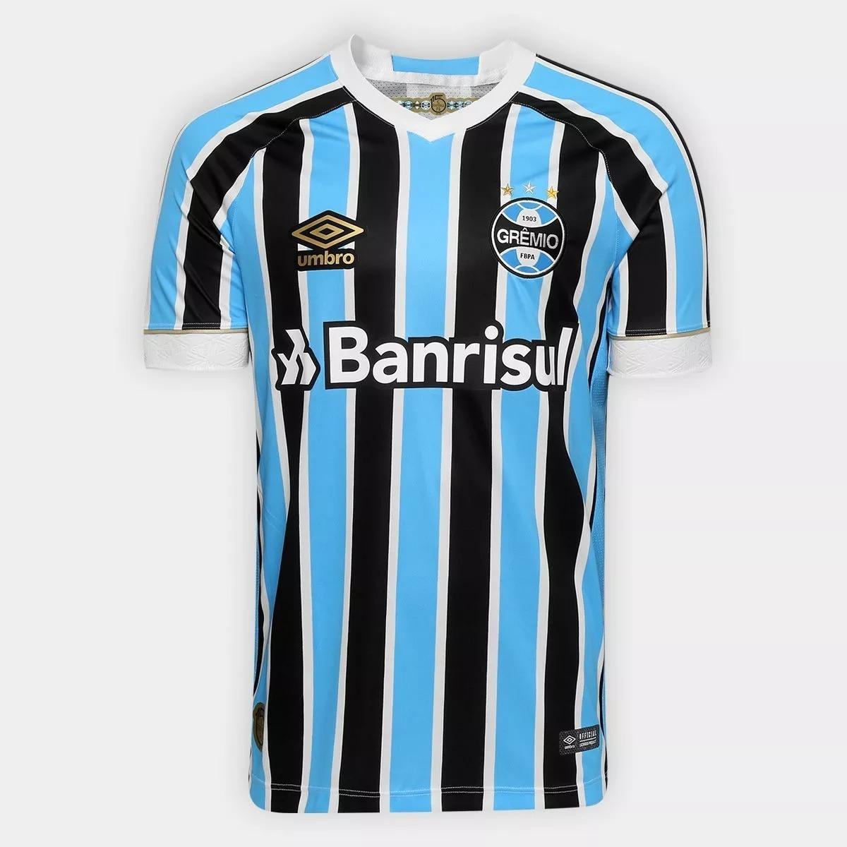 Nova Camisa Camiseta Blusa Grêmio Tricolor I Uniforme Oferta - R ... 2728167b4d1e3