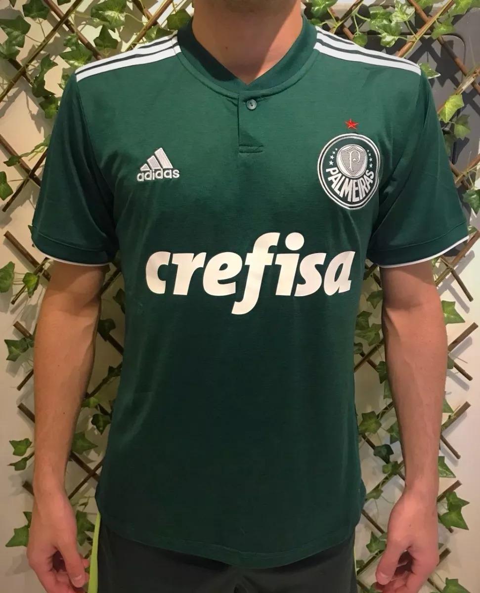 nova camisa camiseta blusa palmeiras oficial 2018-19 oferta. Carregando zoom . a3eb231dd7ace