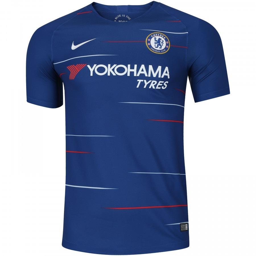 42b68b2be1 Nova Camisa Chelsea Original Nike 2018-2019 Pronta Entrega!! - R ...