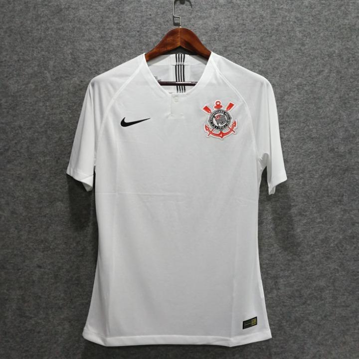 Nova Camisa Corinthians Home Uniforme 1 18 19 Frete Gratis - R  120 ... af27512dcd6b9