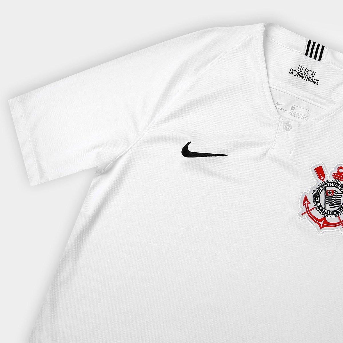753e8df677 Nova Camisa Corinthians Home Uniforme 1 18 19 Frete Gratis - R  120 ...