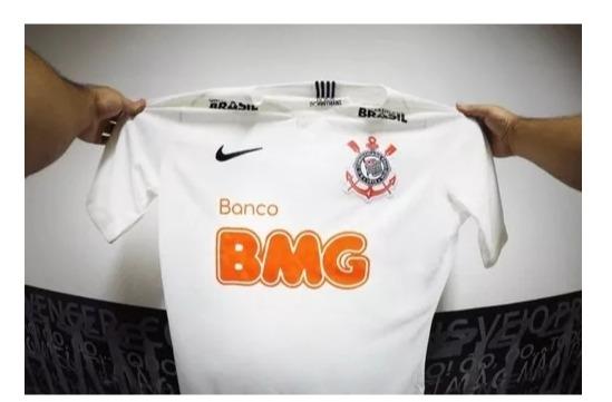 0eeb6f0798 Nova Camisa Corinthians Patrocínio Bmg Nike Oficial - R  179