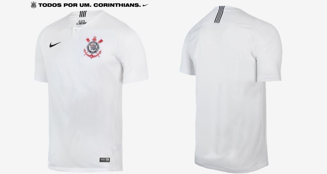 a53d9b1ef nova camisa corinthians preta 2018 - lançamento fiel. Carregando zoom.
