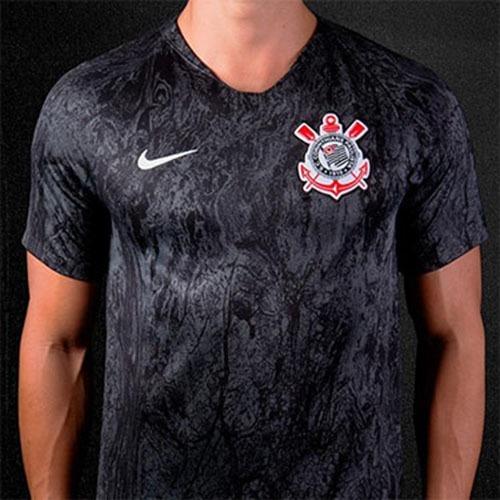 Nova Camisa Corinthians Preta 2018 Original - Super Promoção - R ... 8f3b137b1db02