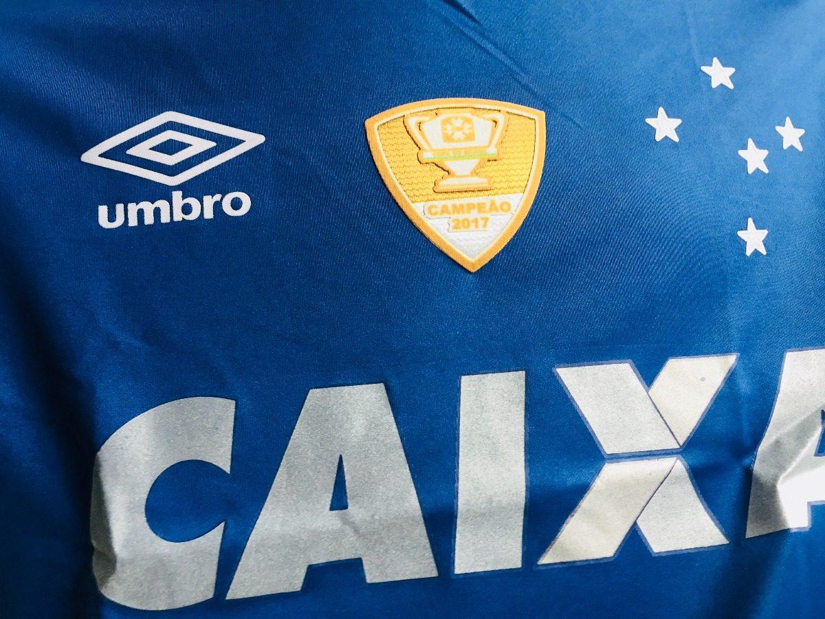 Nova Camisa Cruzeiro 17 18 Terceira Camisa Torcedor C  Patch - R  85 ... bbf23141e806d
