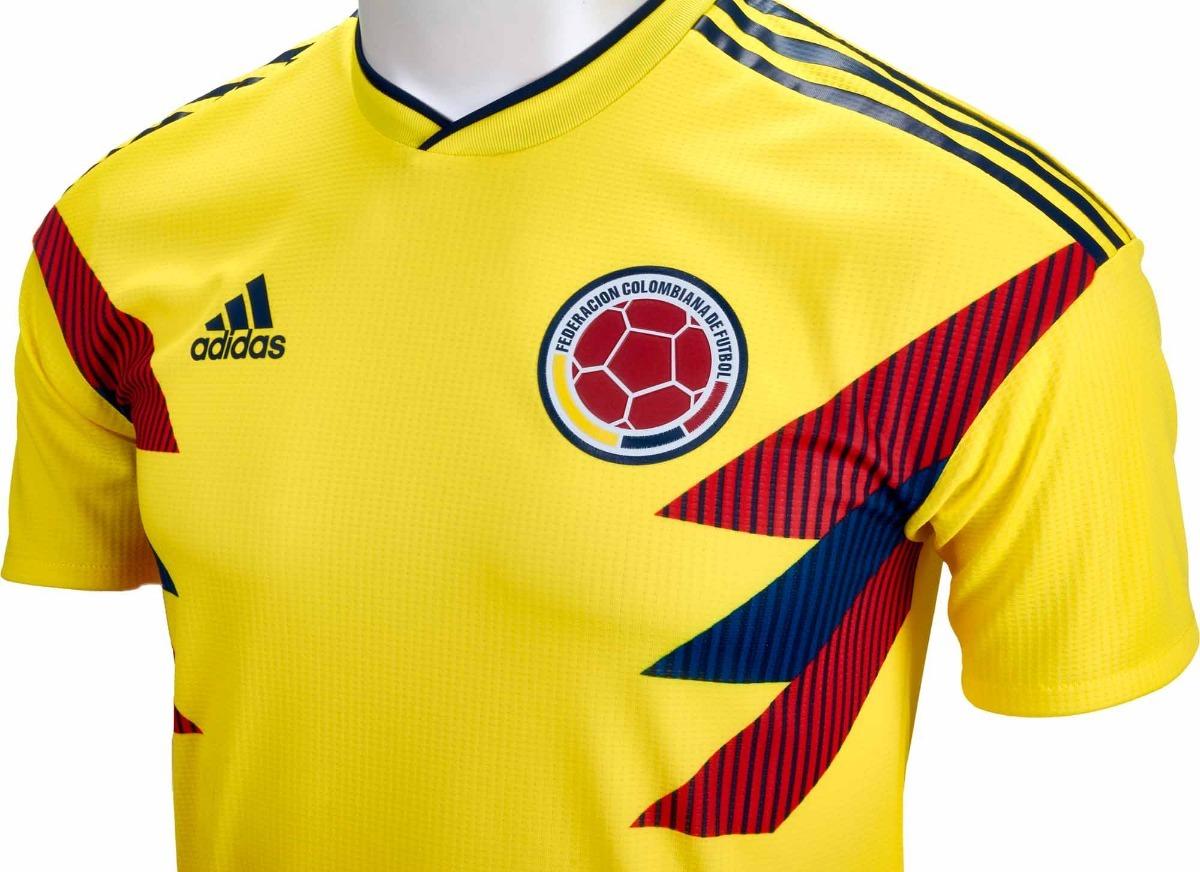 b8188a53b Nova Camisa Da Colômbia Uniforme 1 Copa - Barato Demais - R  119