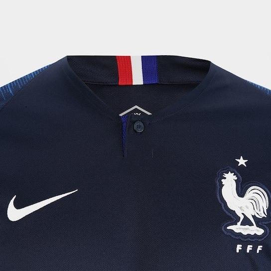 Nova Camisa Da França Azul 2019 !!! Frete Grátis - R  120 1ad9c6d5c7ce1