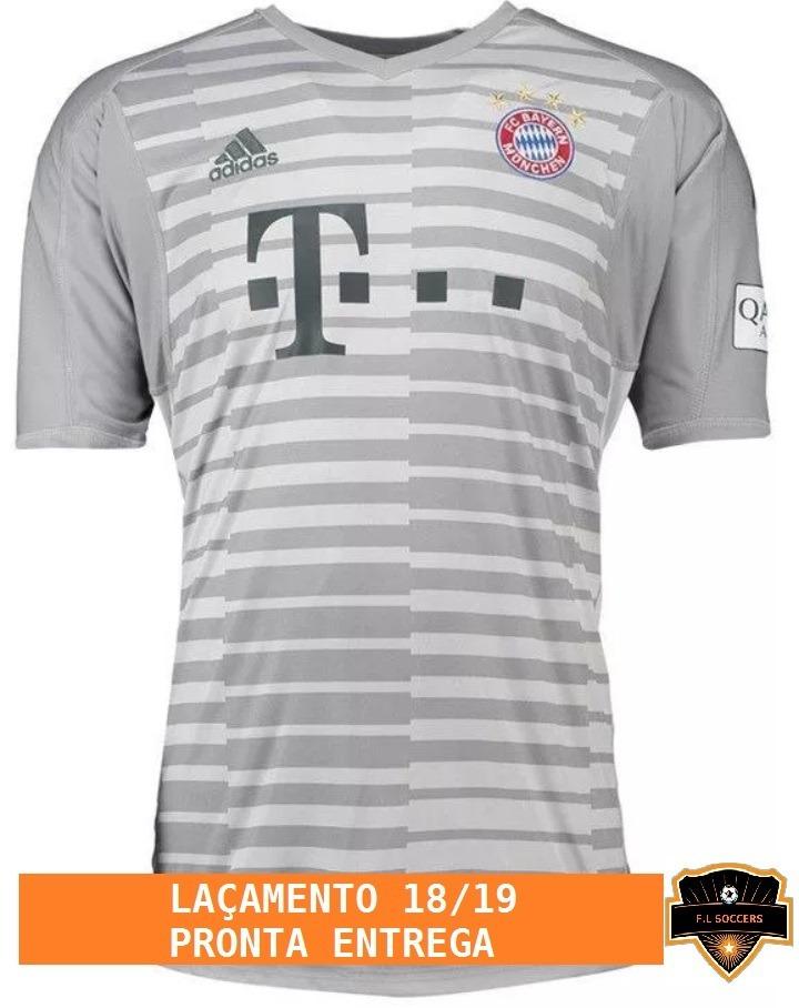 Nova Camisa Do Bayern S n - 18 19 - Oficial - R  89 12c29c391ab46