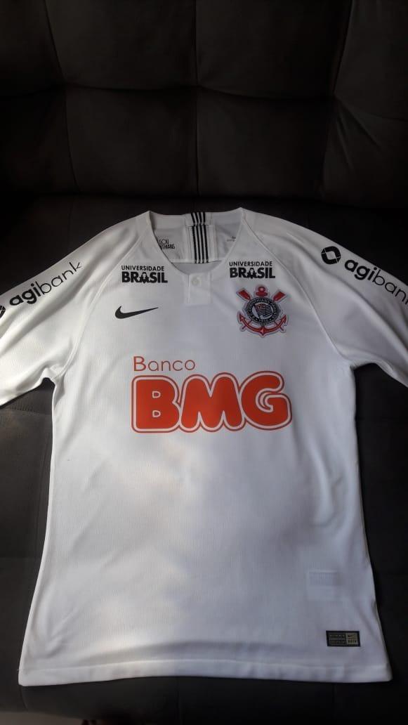 2fb34f85a87e4 nova camisa do corinthians 2019 bmg. Carregando zoom.