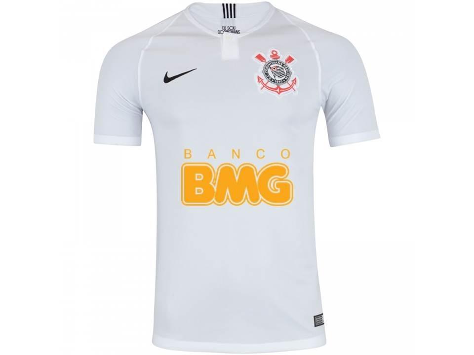 Nova Camisa Do Corinthians 2019 Bmg Original Camisa Timão - R  170 ... 1cf7739dba6ff