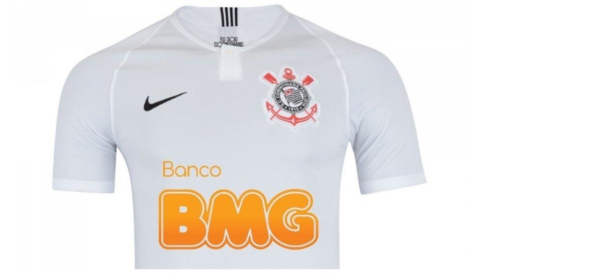 ff20fd8078 nova camisa do corinthians 2019 bmg original pronta entrega. Carregando  zoom.