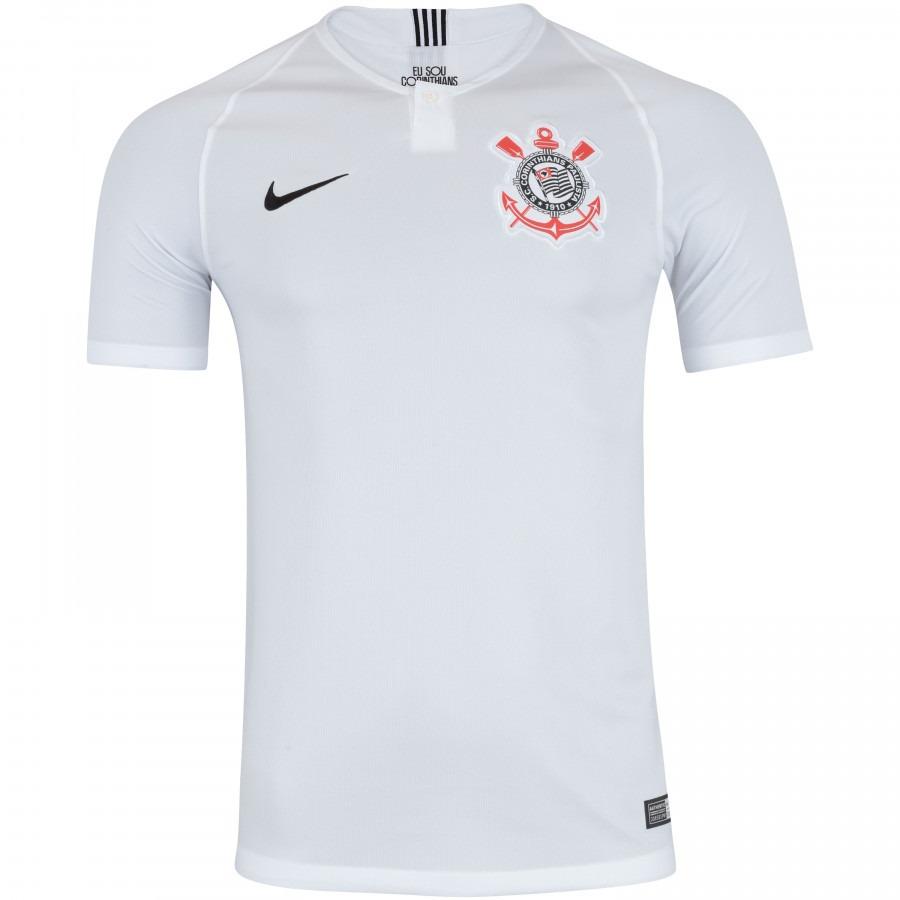 nova camisa do corinthians - home - uniforme 1- timao bco. Carregando zoom. b6ca6afa6e3b3