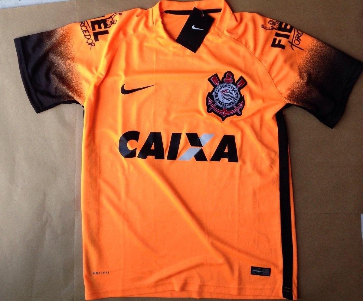 Nova Camisa Do Corinthians Modelo Novo2016 Laranja P.entrega - R  69 ... 70164dfd2eaef
