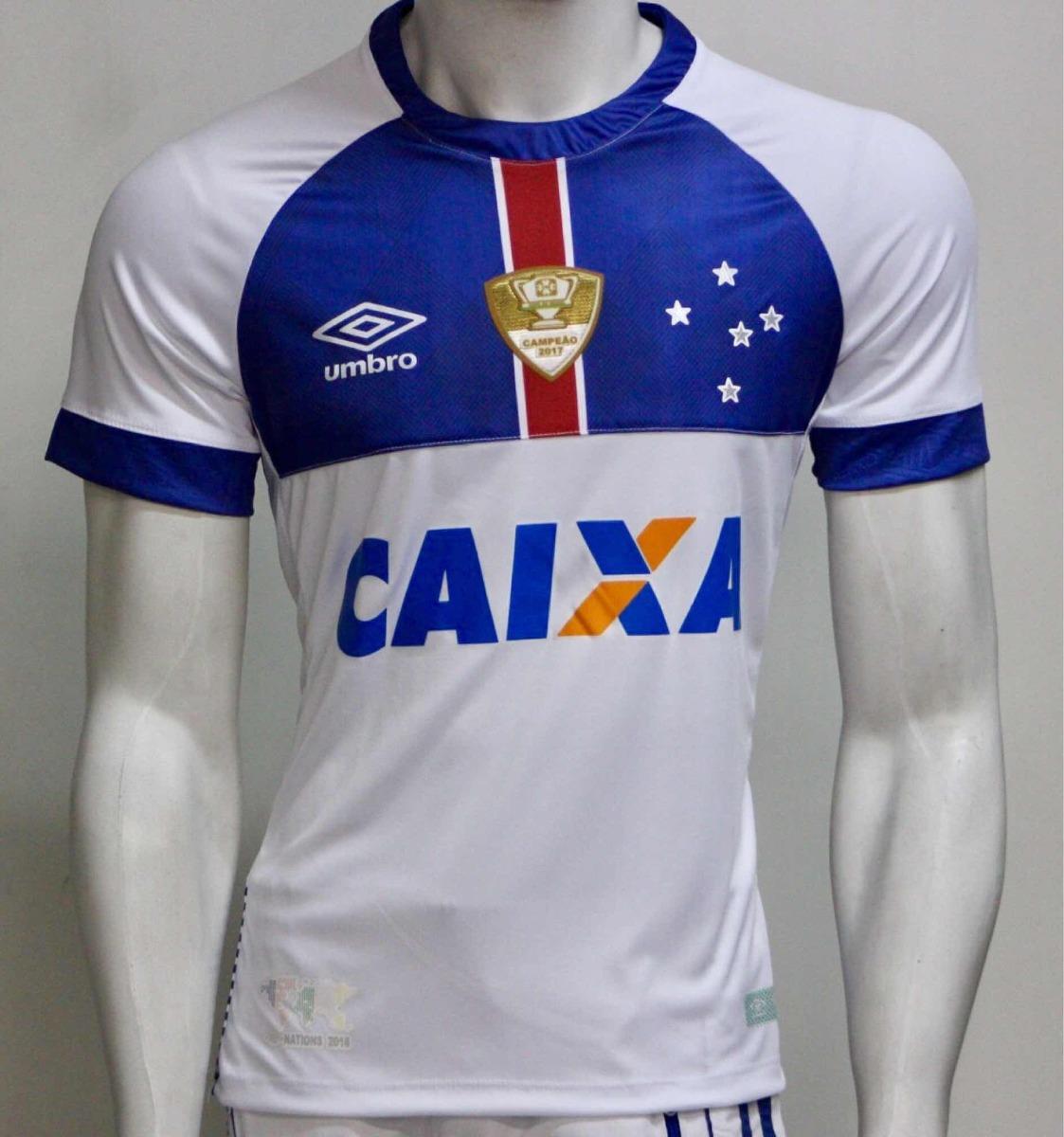 a2ae740ad9 Nova Camisa Do Cruzeiro 2018 Branca Islândia - R  88