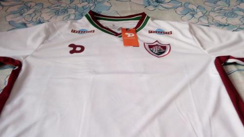 Nova Camisa Do Fluminense 2016 2017 Branca Pronto Entrega - R  78 930e8ae6ee88c