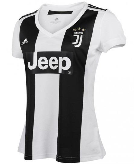 ca66b5cda6 Nova Camisa Feminina Juventus adidas 2018-2019 Ronaldo 7 Cr7 ...