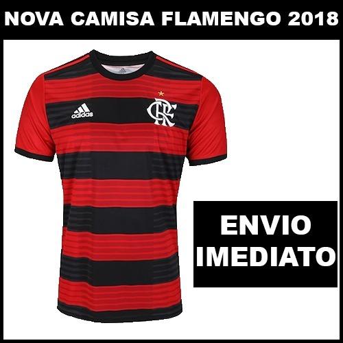 da580bc0fe803 Nova Camisa Flamengo 2018 Torcedor - Super Oferta - R$ 60,00 em ...
