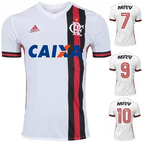 fa077dbf63 Nova Camisa Flamengo Branca 2018 Original Support Promoção - R  36 ...