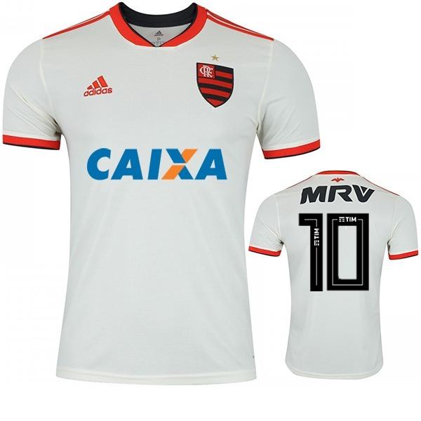 61f036b76e Nova Camisa Flamengo Branca Original 2018 - Frete Gratis - R  120