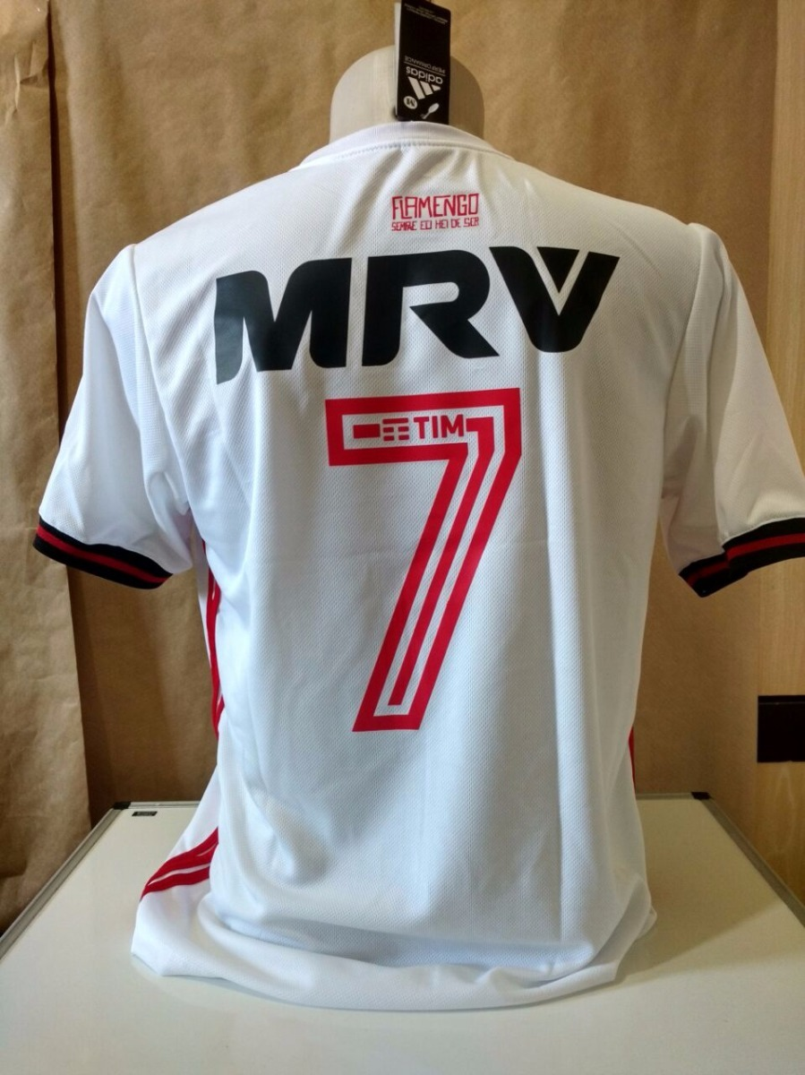 nova camisa flamengo branca original support - super oferta. Carregando zoom . 6dd443f2334e1