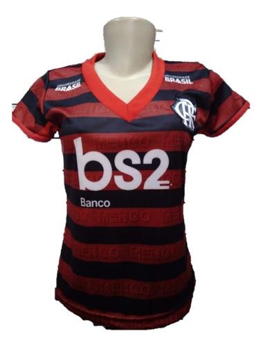 nova camisa flamengo feminina 3d 2019 ( pronta