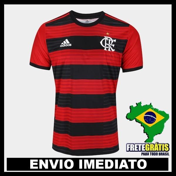 b2f26d2c76 Nova Camisa Flamengo Original 2018 - Frete Gratis - R  139
