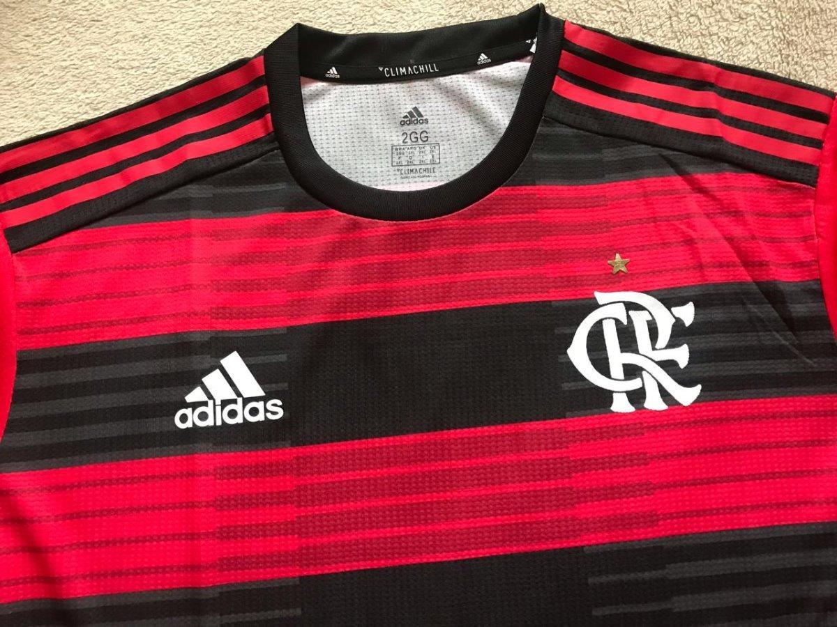 35778fd62f1 nova camisa flamengo player escudo emborrachado disponível. Carregando zoom.