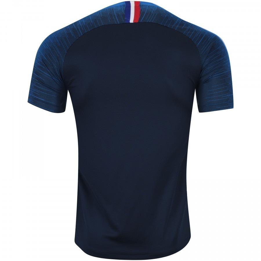 d2d36fbaa7502 Nova Camisa França 2 Estrelas 2018 2019 Frete Grátis Novo - R  139 ...