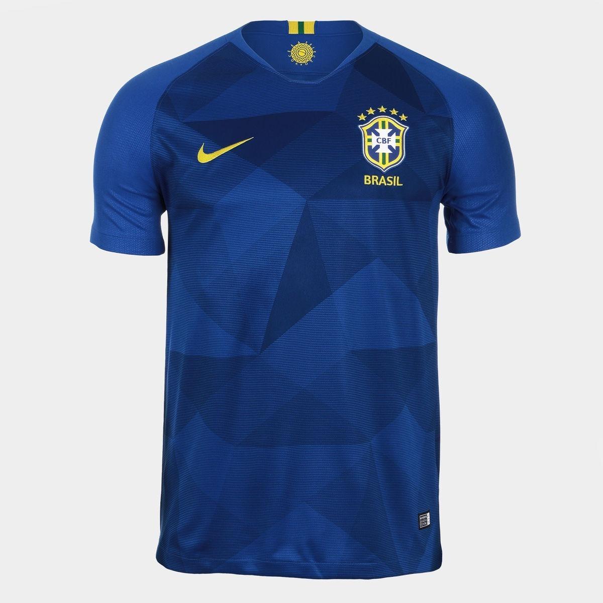 17a213e5aae53 nova camisa futebol seleção brasileira oficial copa 2018 top. Carregando  zoom.