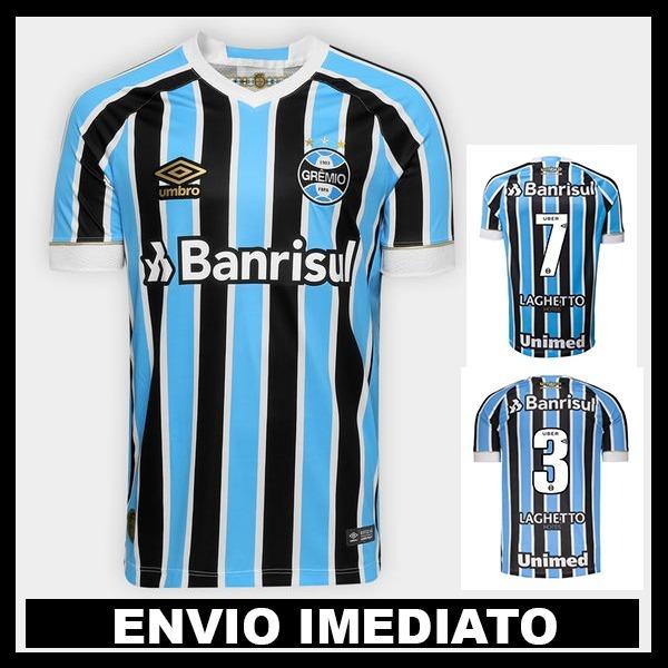 01061b14c7947 Nova Camisa Grêmio 2018 Oficial - Promoção - R  119
