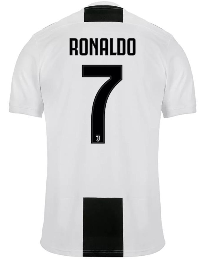 c27d4e2820f4f Nova Camisa Juventus - adidas - Oficial - Ronaldo 7 - 18 19 - R  120 ...