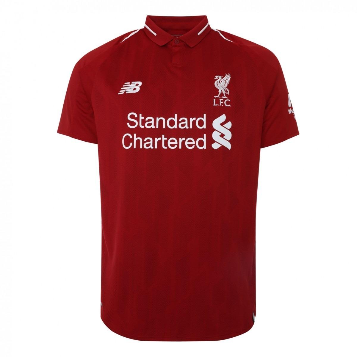b50ade43dc Nova Camisa Liverpool 18/19 Original New Balance Oficial !! - R$ 120,00 em  Mercado Livre