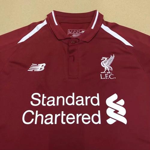 6a7fecfa44 Nova Camisa Liverpool 18 19 Original New Balance Promoçao!! - R  139 ...