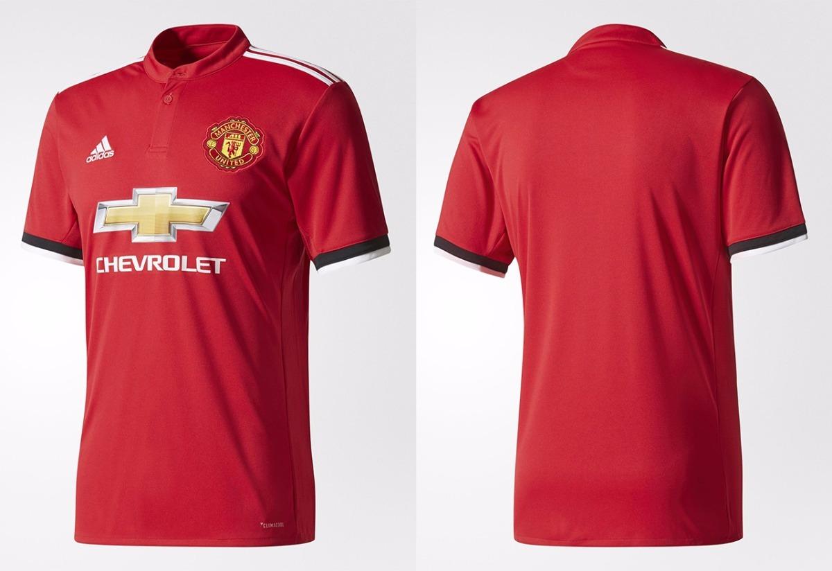 546d5e153f nova camisa manchester united 2017 2018 adidas oficial. Carregando zoom.