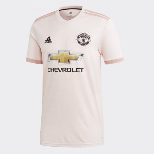 5d008ed49 Nova Camisa Manchester United Rosa 2018 2019 Pronta Entrega - R  119 ...