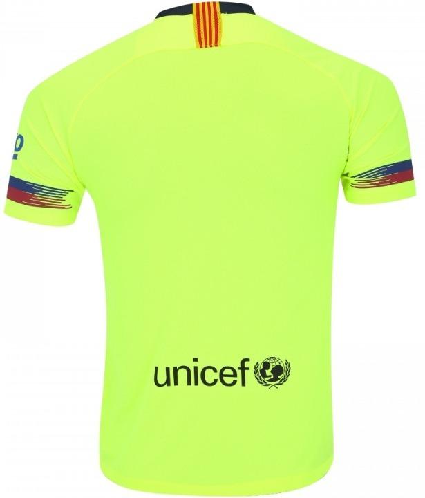 7a8d94a14b Nova Camisa Nike Barceona 18 19 - Oficial - S n - Uniforme 2 - R  89 ...
