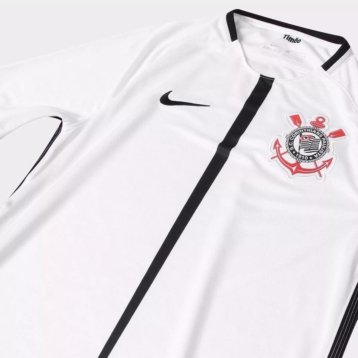 nova camisa oficial do corinthians original 2017 últimas und. Carregando  zoom. 4eeeec26d3f9a