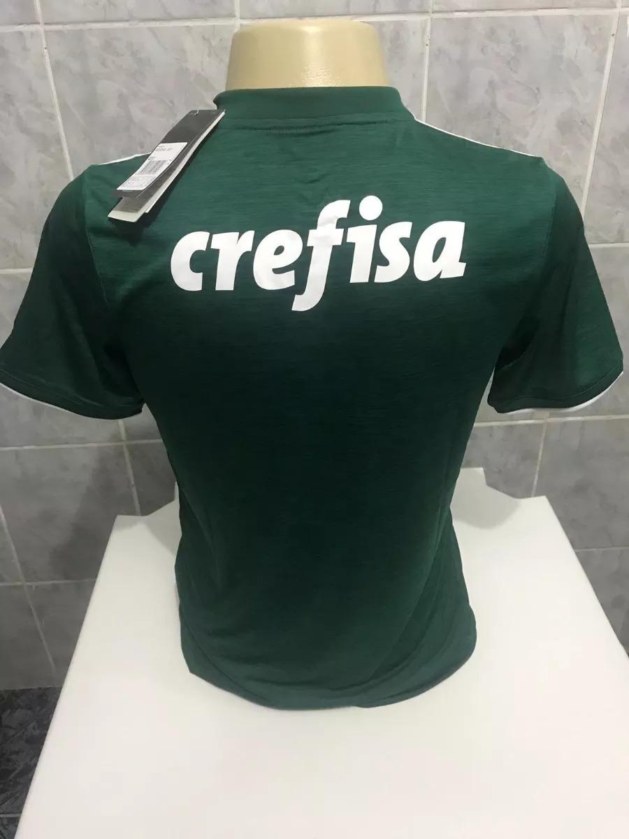 4e349ffb14 Nova Camisa Palmeiras 2018 2019 Crefisa - Frete Gratis - R  120