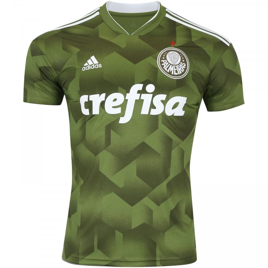 0982662b7c322 Nova Camisa Palmeiras Oficial Ill 18 19 - Frete Grátis! - R  149