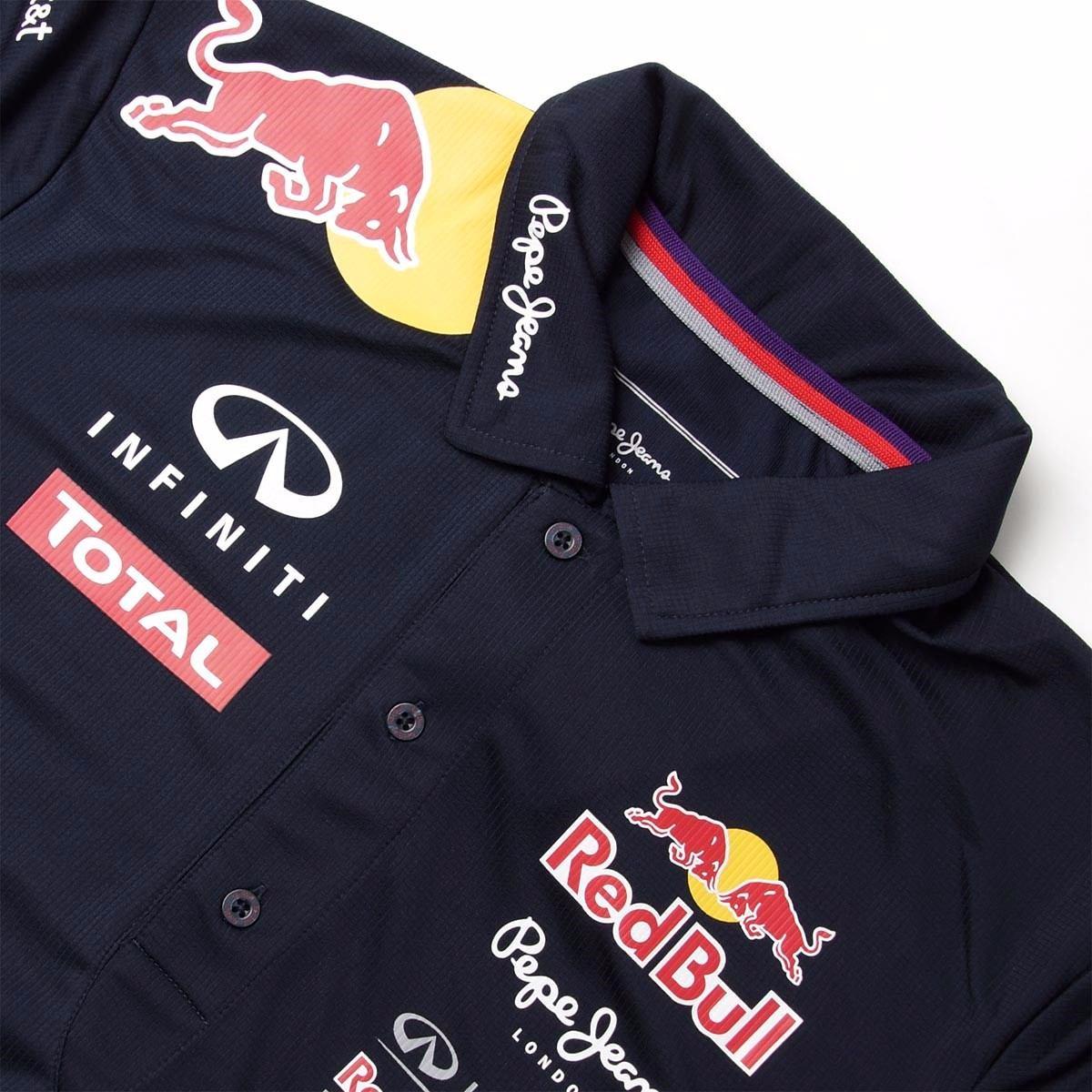 nova camisa polo formula 1 red bull masculina 100% algodão. Carregando zoom. 682742fc36d06