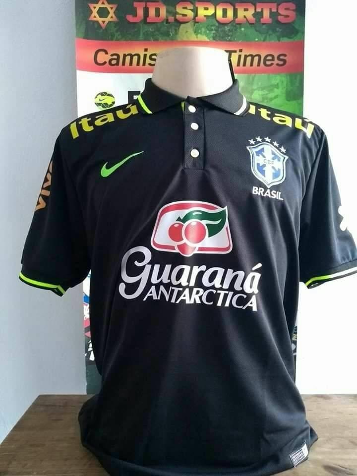 nova camisa polo seleção brasileira 2018!! frete grátis. Carregando zoom. f0c7e5eb6c988