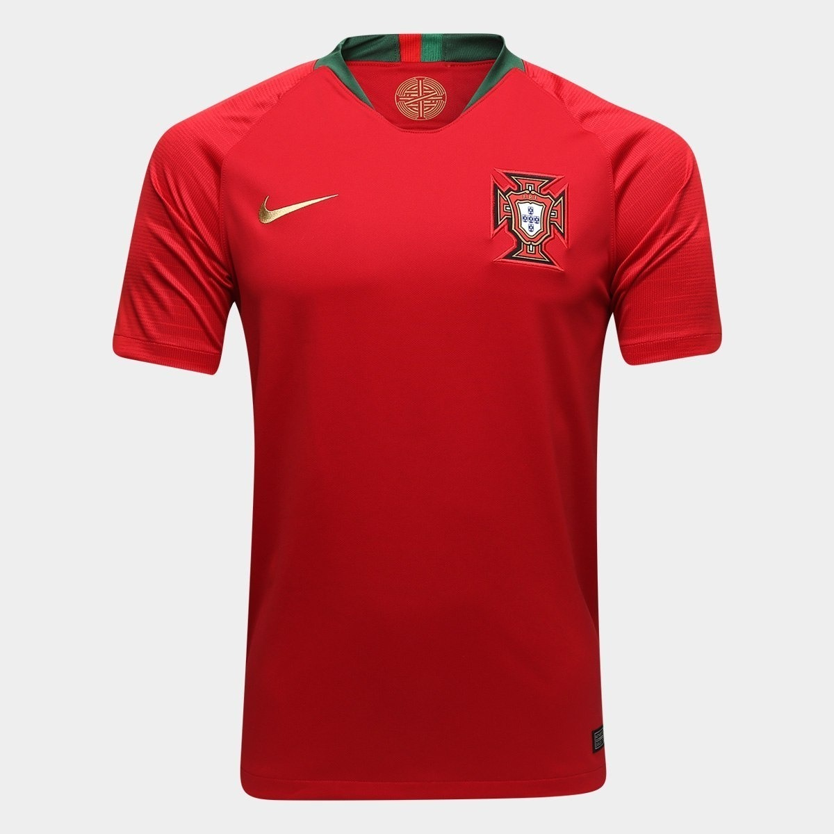 nova camisa portugal vinho 2018 2019 futebol. Carregando zoom. b8954d251063c