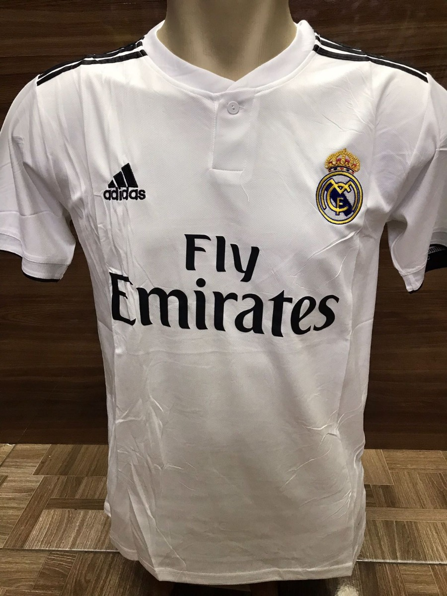 19fee57ae3 Nova Camisa Real Madrid 2018 Frete Grátis - R  149