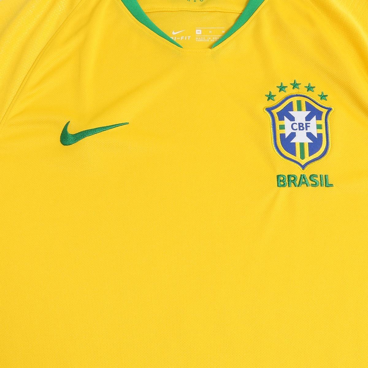 15b0840ab9 nova camisa seleção brasileira 2018 torcedor rumo ao hexa. Carregando zoom.