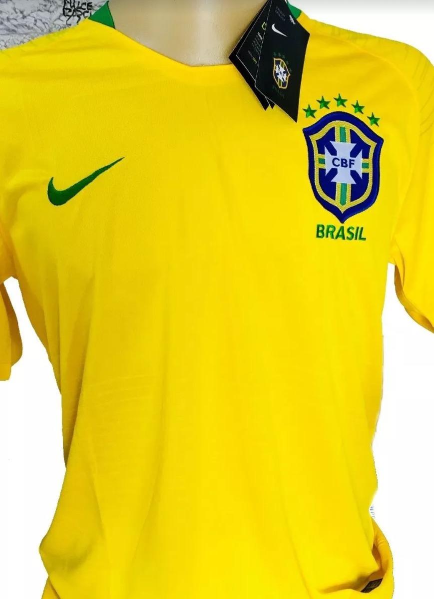 nova camisa seleção brasileira copa do mundo rússia original. Carregando  zoom. 2fc7cd8d44395