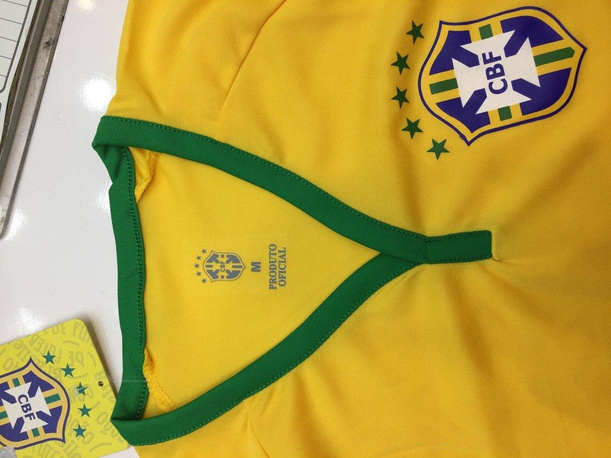 8586843bd7 nova camisa seleção brasileira oficial 2018 copa russia cbf. Carregando  zoom.