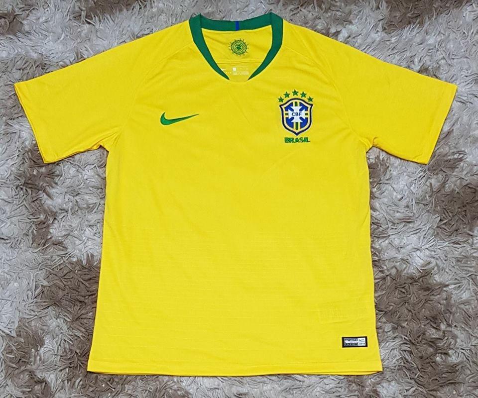 nova camisa seleção brasileira oficial copa 2018. Carregando zoom. 4205576d1435f